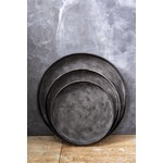 Sweet Living Dienblad Rond Metalen - Ø57xH6 cm