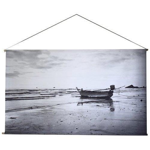 Sweet Living Boat Schoolplaat - 150xH90 cm