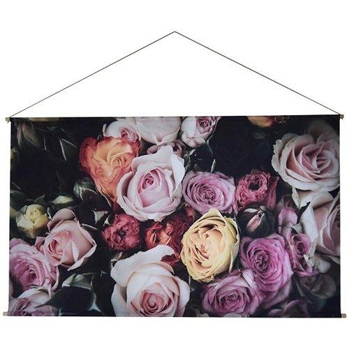 Sweet Living Roses Schoolplaat - 150xH90 cm