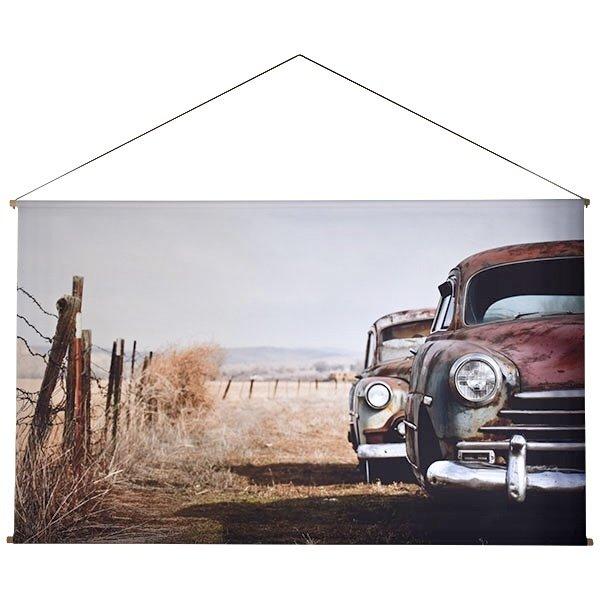 Sweet Living Country Road Schoolplaat - 150xH90 cm