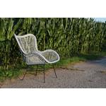 Sweet Living Rotan Egg Chair Grijs - 70x76xH90 cm