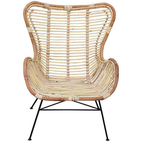 Sweet Living Egg chair Rotan - 70x76xH90 cm
