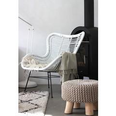 Hangstoel Egg Chair Wit.Rotan Egg Chair Kopen Eigen Productie Houss Nl