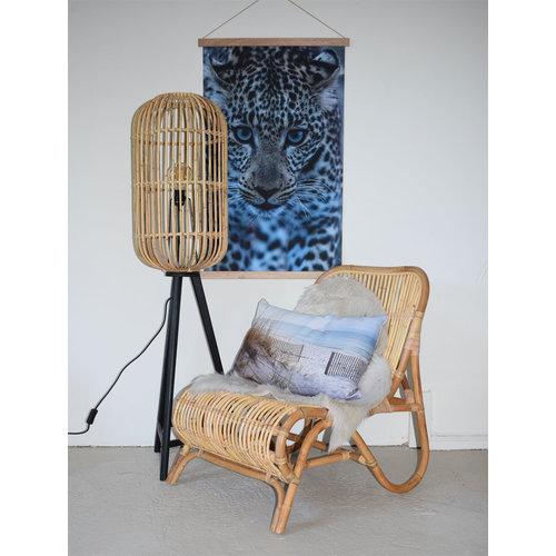 Sweet Living Naturelkleurige Loungestoel - 59x78xH77 cm