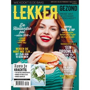 Lifestyle Magazine Lekker Gezond 7- 2018