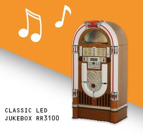 Full size Classic LED Jukebox RR3100