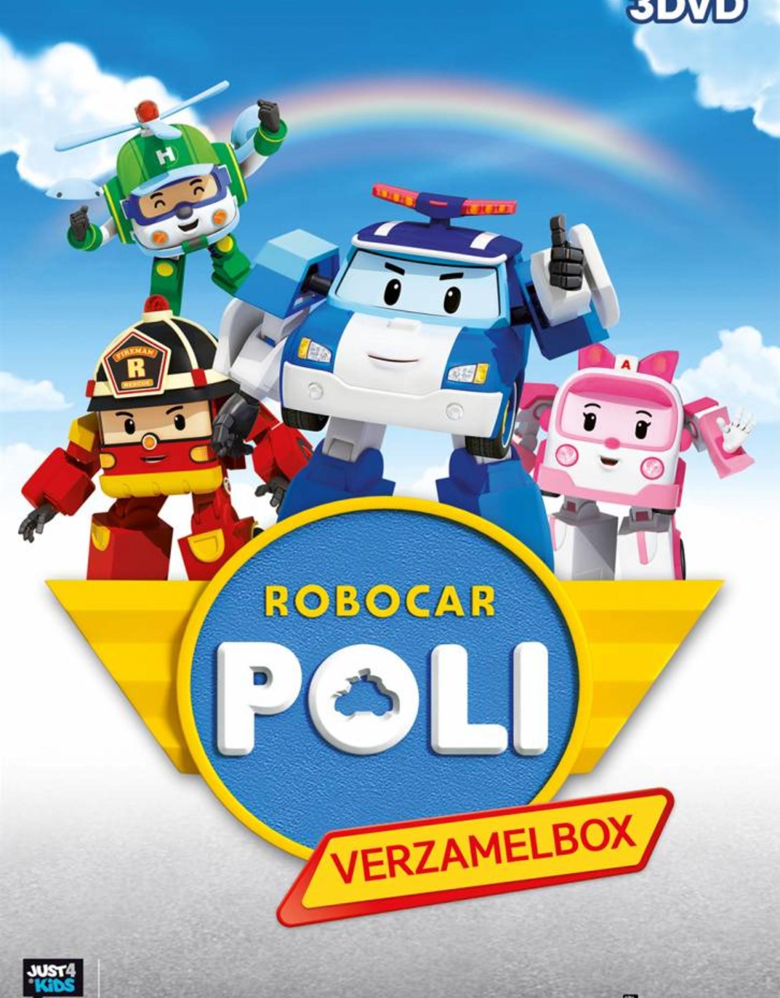 Just Entertainment Robocar Poli - deel 1 t/m 3