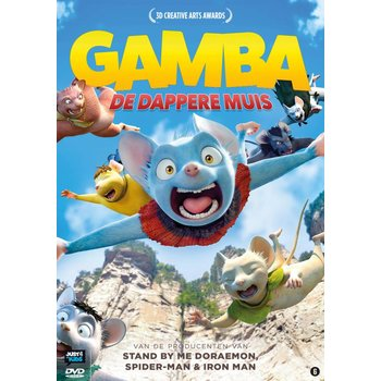 Just Entertainment Gamba - de dappere muis