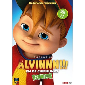 Just Entertainment Alvinnn!!! en de Chipmunks - Box 1 deel 1 - 3