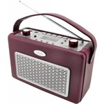 Soundmaster Nostalgische radio TR50 bordeauxrood
