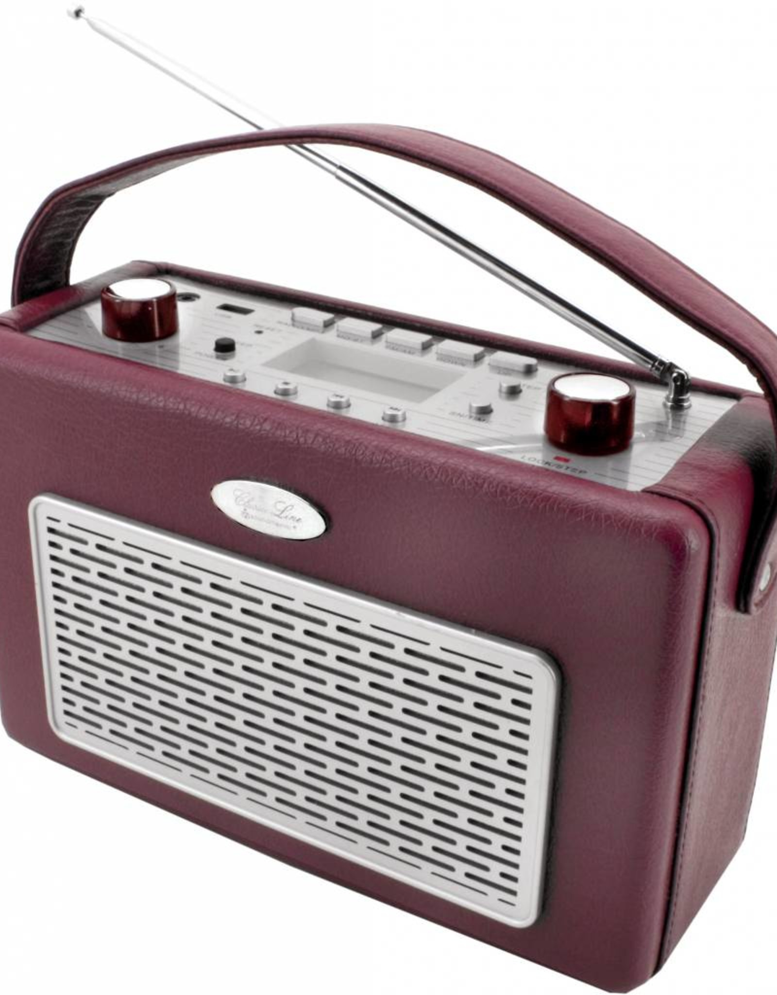 Soundmaster Nostalgische radio TR50 bordeauxrood