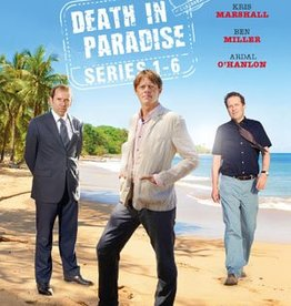 Just Entertainment Death in Paradise Box - Seizoen 1 t/m 6