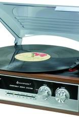 Soundmaster Platenspeler met radio PL186H