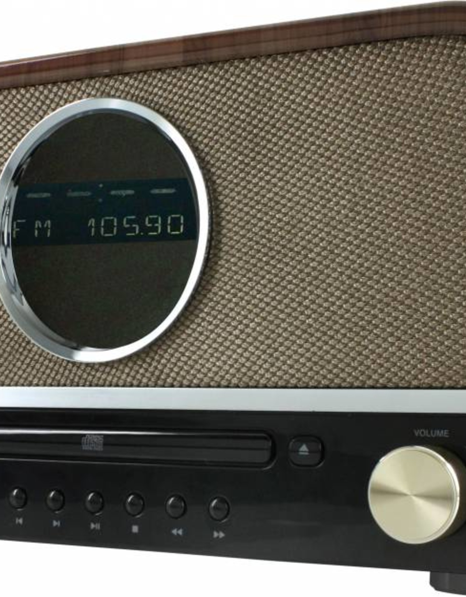 Soundmaster Music center NR850 met DAB+ (bruin)