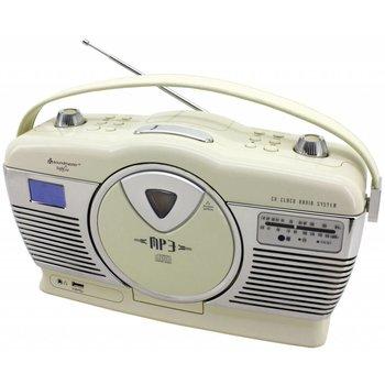 Soundmaster Retro radio/cd-speler RCD1350 (beige)