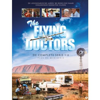 Just Entertainment Flying Doctors: Seizoen 1 - 4 (plus miniseries)