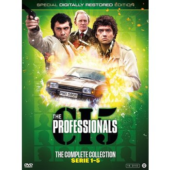 Just Entertainment The Professionals Box - seizoen 1 t/m 5