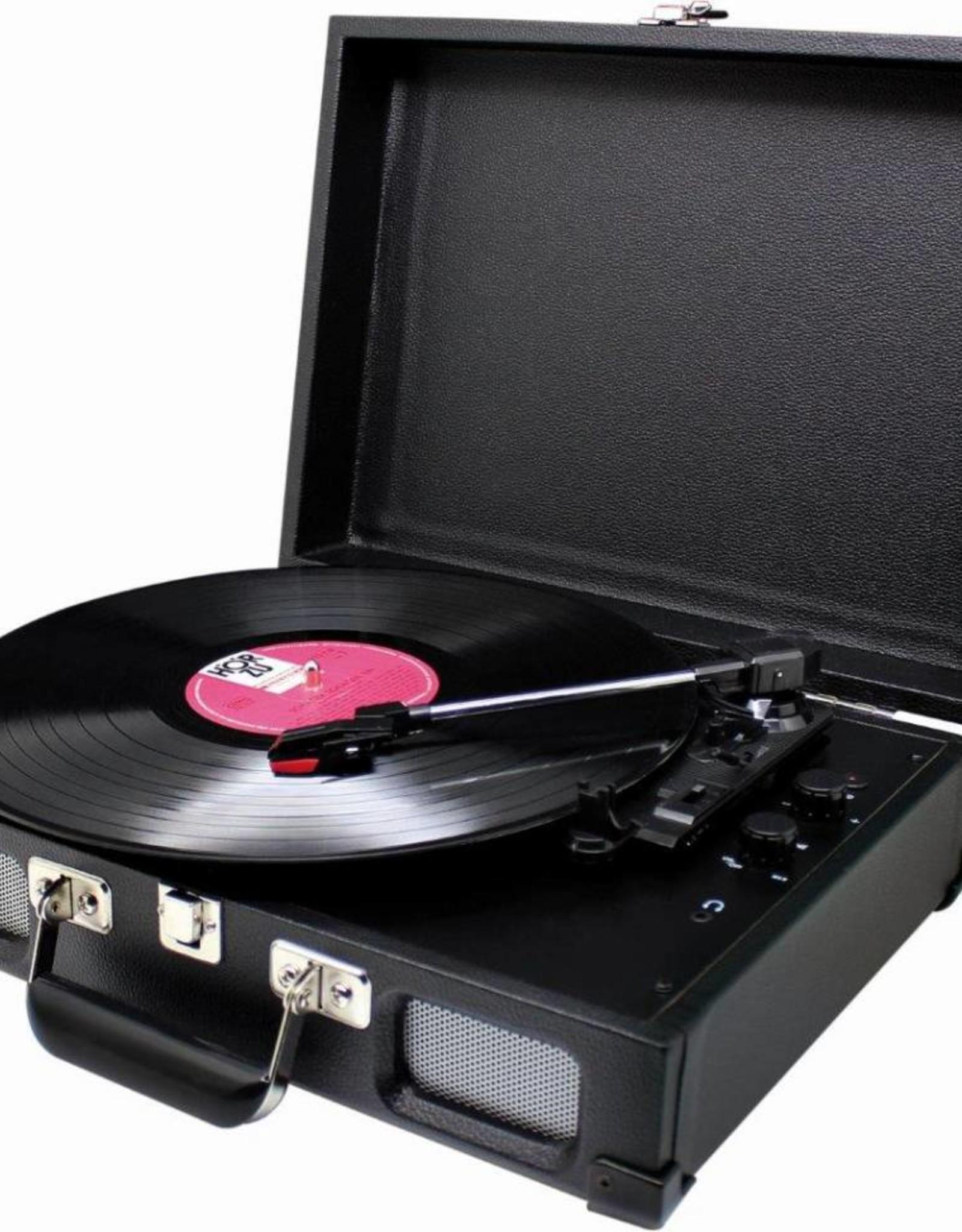 Soundmaster Koffermodel platenspeler PL580 zwart