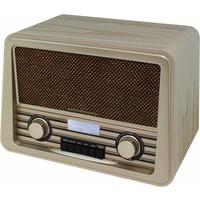 Soundmaster Nostalgische DAB+-radio NR920 (lichtbruin)