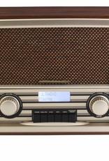 Soundmaster Nostalgische DAB+-radio NR920 (donkerbruin)