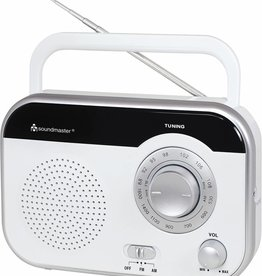 Soundmaster Draagbare radio TR410 wit