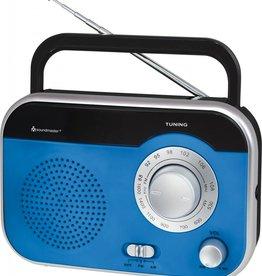 Soundmaster Draagbare radio TR410 blauw