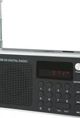 Soundmaster Draagbare digitale radio TR150 zwart