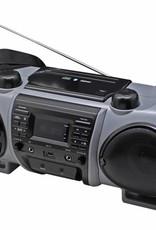 Soundmaster Boombox SCD8000 zwart/grijs