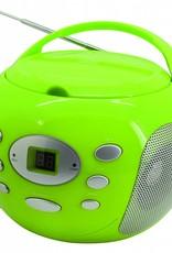 Soundmaster Draagbare radio/cd-speler SCD2000 groen