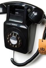 GPO GPO Muurtelefoon 746 WALL - zwart