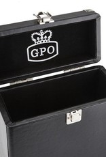 "GPO GPO 7"" opbergkoffer voor singles - zwart"
