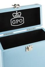 "GPO GPO 7"" opbergkoffer voor singles - blauw"