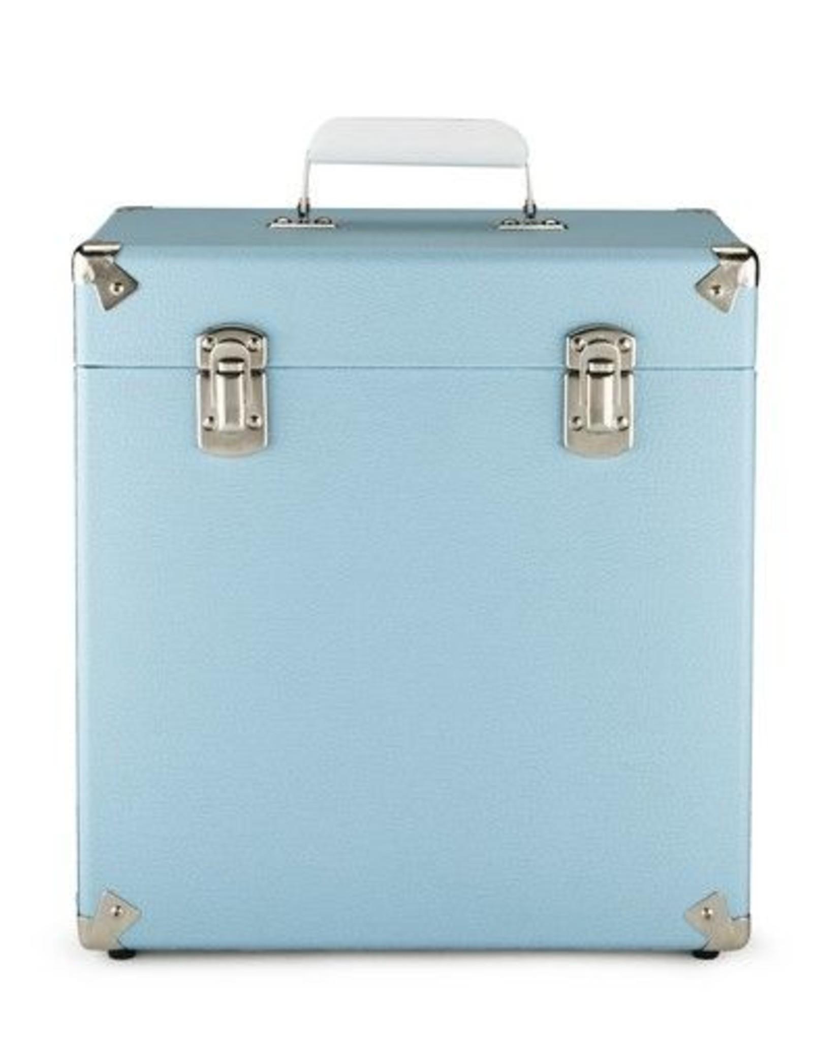 """GPO GPO 12"""" opbergkoffer voor vinyl - blauw"""