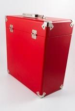 "GPO GPO 12"" opbergkoffer voor vinyl - rood"