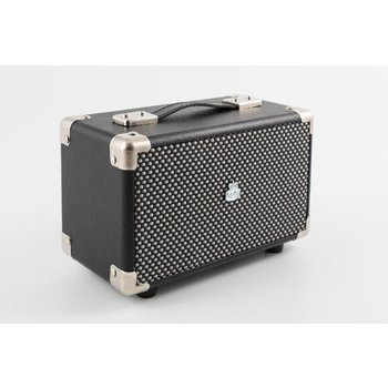 GPO GPO Compacte retro bluetooth speaker - zwart