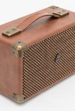 GPO GPO Compacte retro bluetooth speaker - bruin