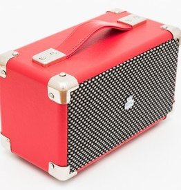 GPO GPO Compacte retro bluetooth speaker - rood