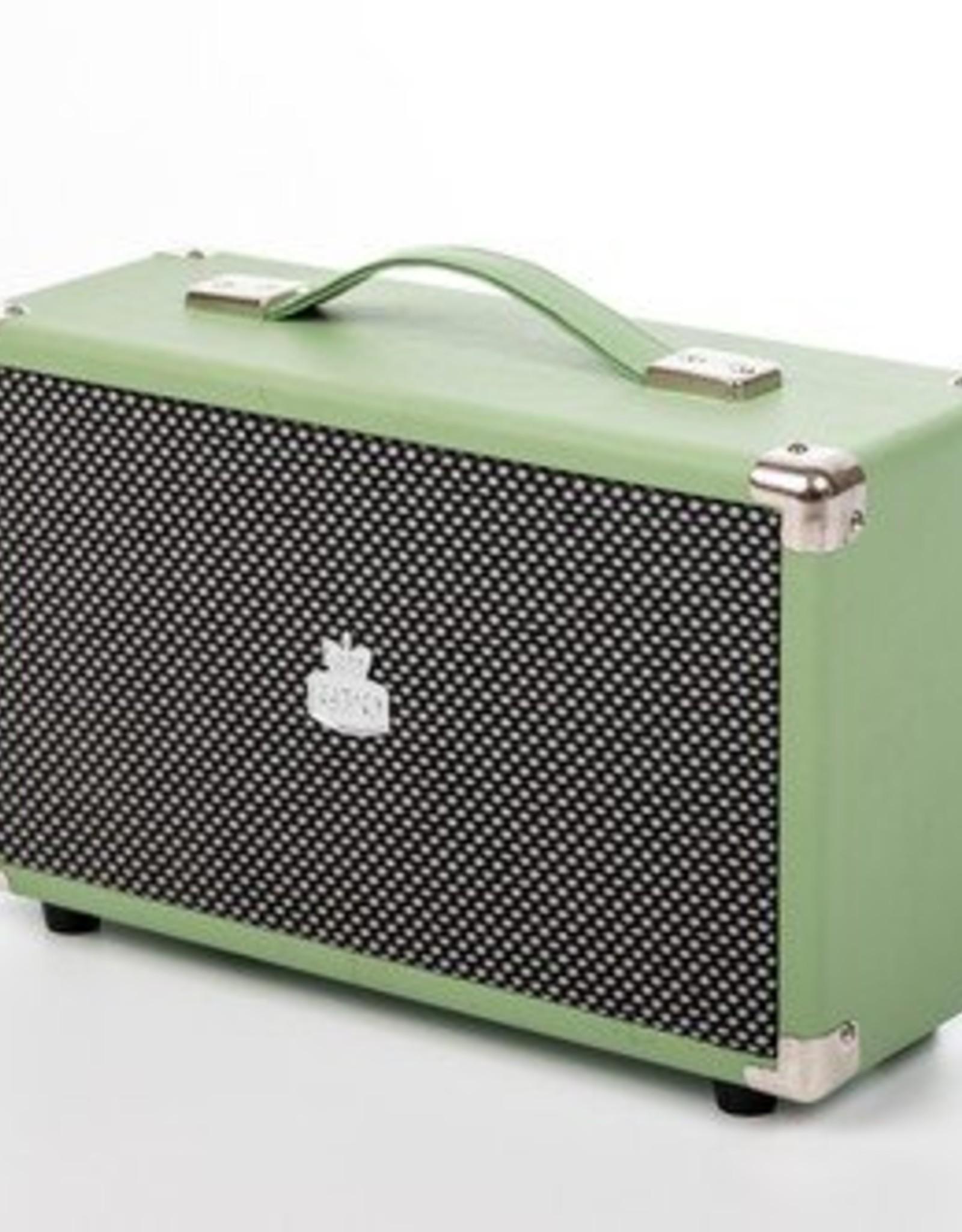 GPO GPO Nostalgische bluetooth speaker - groen