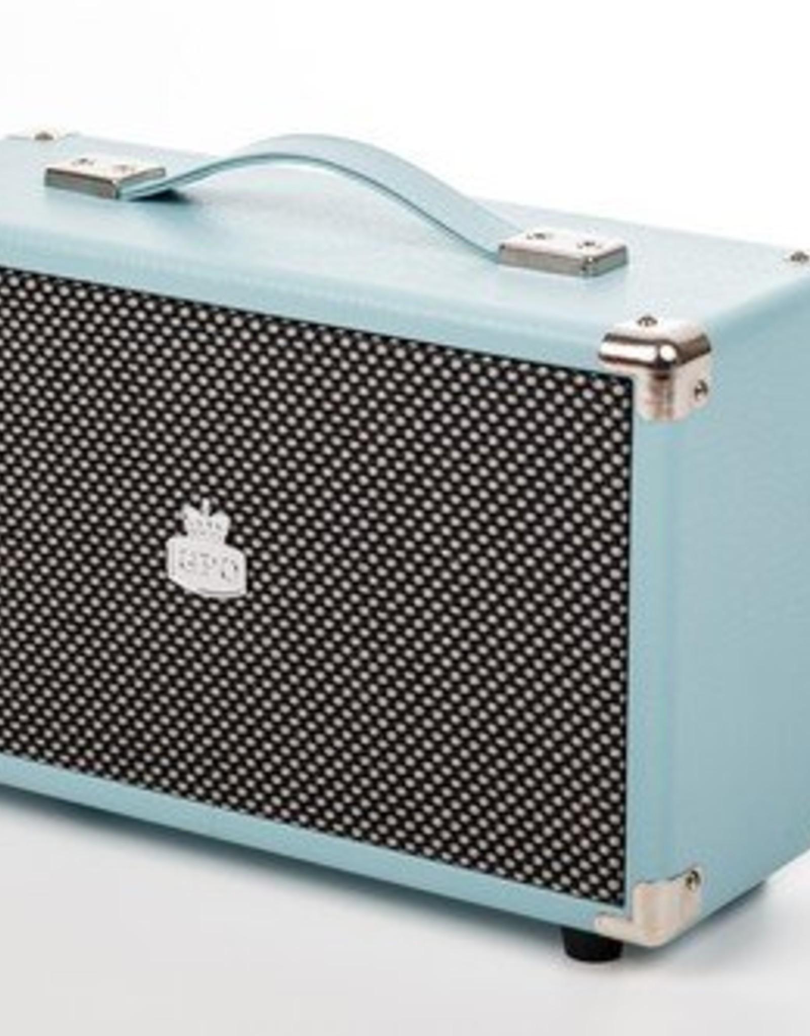 GPO GPO Nostalgische bluetooth speaker - blauw
