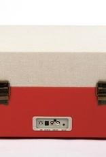 GPO GPO Kofferplatenspeler op pootjes - rood