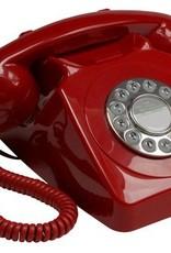 GPO GPO Retro telefoon 746 PUSH - rood