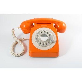 GPO GPO Klassieke telefoon 746 ROTARY - oranje