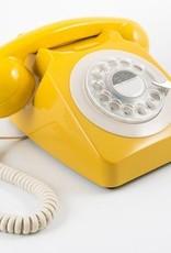 GPO GPO Klassieke telefoon 746 ROTARY - geel