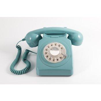 GPO GPO Klassieke telefoon 746 ROTARY - blauw