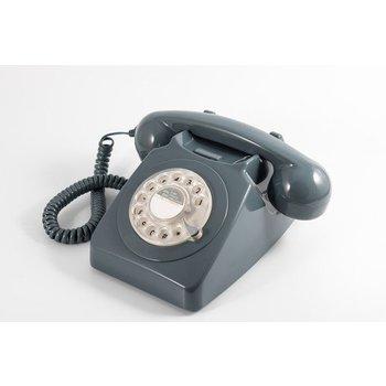 GPO GPO Klassieke telefoon 746 ROTARY - grijs