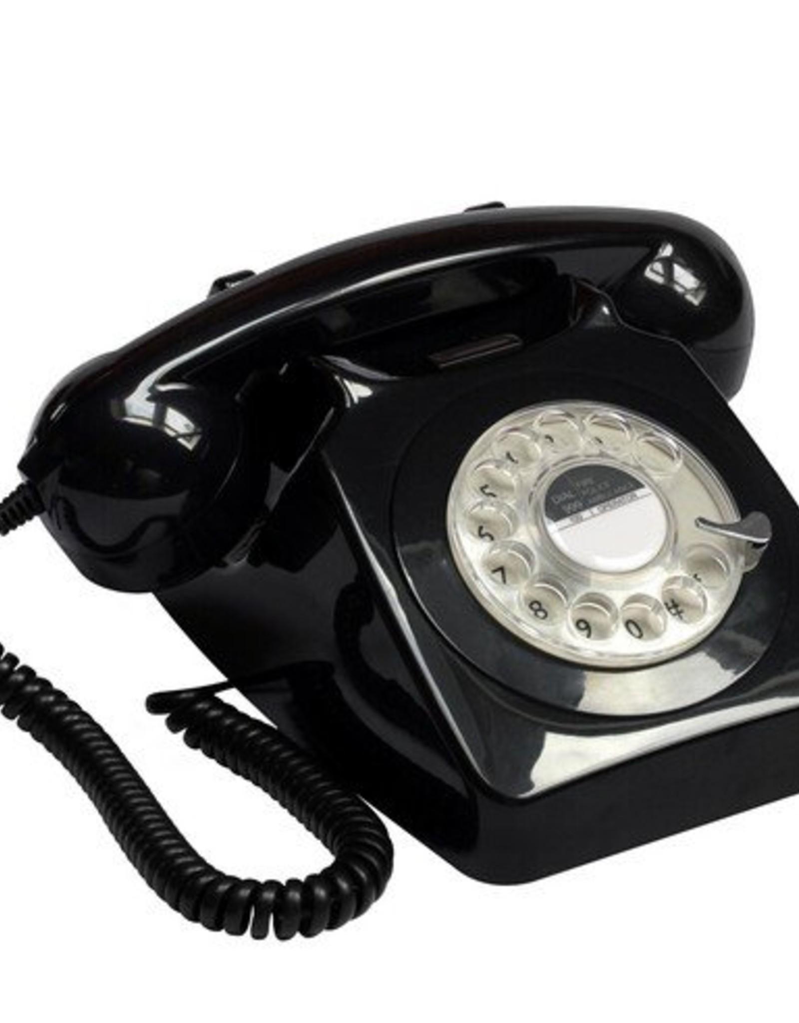 GPO GPO Klassieke telefoon 746 ROTARY - zwart
