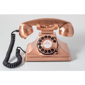 GPO GPO Telefoon met draaischijf 200 - koperkleurig