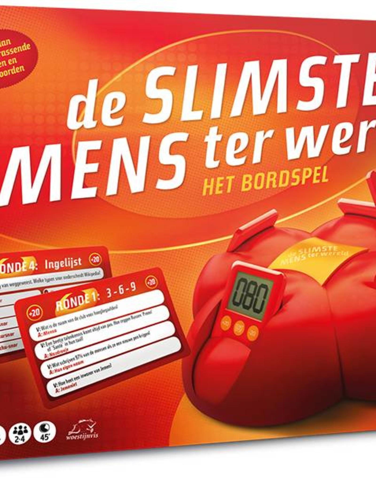 Just Entertainment De Slimste Mens ter Wereld - Bordspel