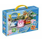 Just Entertainment Robocar Poli 3-in-1 (Memo, Domino, Puzzel)