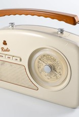 GPO GPO Fifties style radio - crème